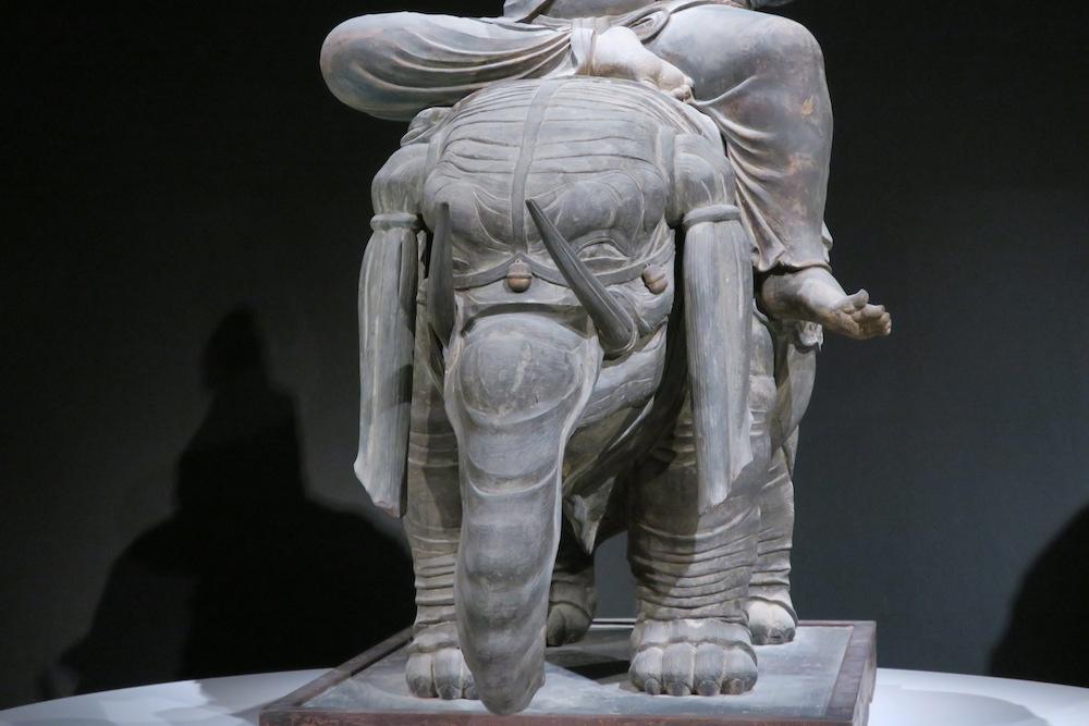 帝釈天騎象像 アイラーヴァタ